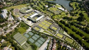 Wimbledon is a sleepy green suburb of South London